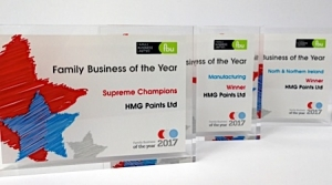 HMG Paints Crowned Supreme Champions at the Family Business of the Year Awards 2017