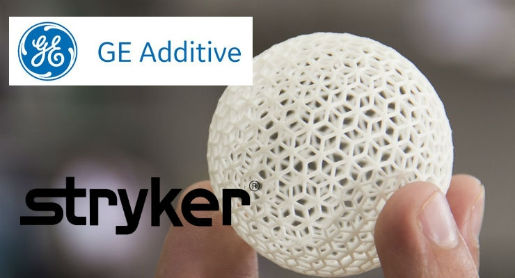 GE Additive and Stryker Form Additive Manufacturing Partnership