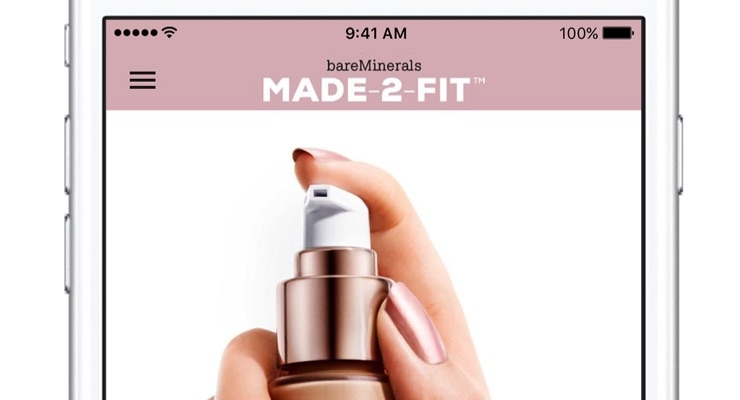 BareMinerals App Delivers Custom-blended Foundation Direct To Consumers