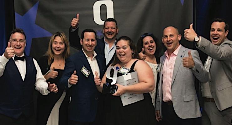 Pazazz wins top honor at Gutenberg Gala