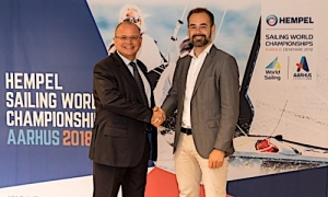 Hempel Announced as Title Sponsor for Aarhus 2018 Sailing World Championships