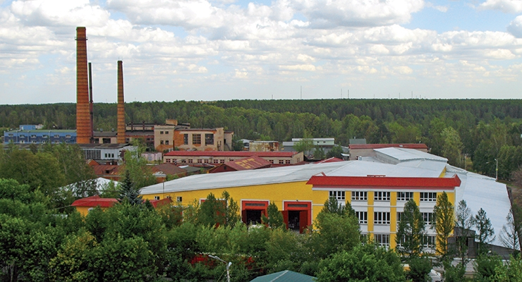 12 new plants will be built in Russia by 2020.  (In the photo: VGT plant in Moscow Oblast).