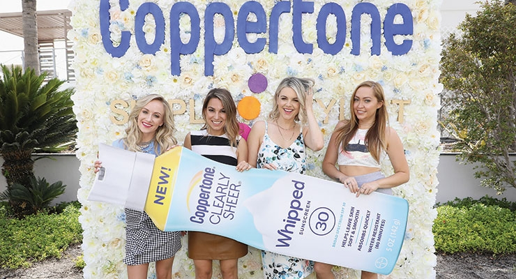 Coppertone and Simply Stylist co-hosted an event dedicated to the importance of sun protection and the new Whipped line.