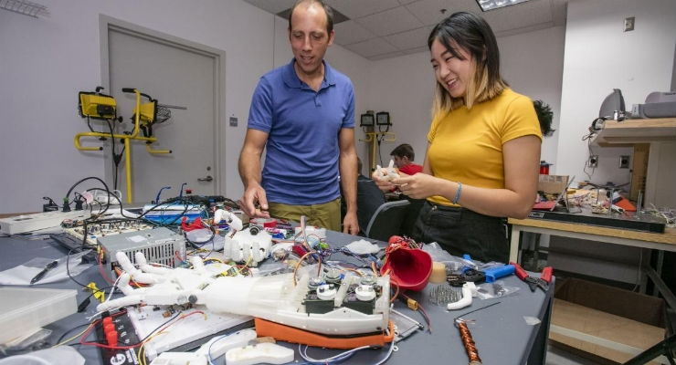 Impact Resistant Fingers for Prosthetic Hands
