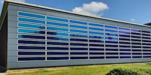 New Heliatek Solar Energy Façade on ENGIE