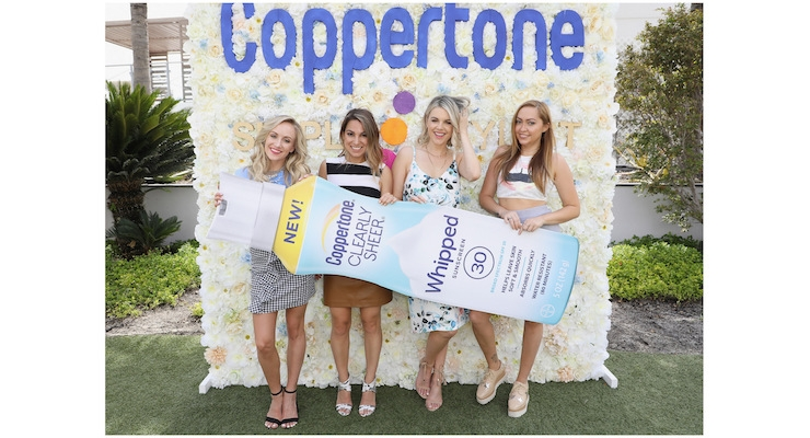 Coppertone Promotes Its Whipped Sunscreen with Summer Tour