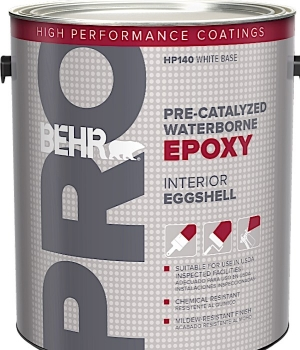 Behr Pro Introduces Pre-Catalyzed Waterborne Epoxy