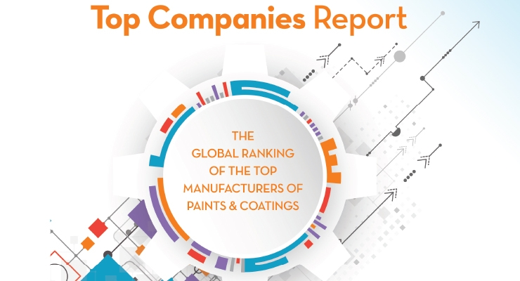 2017 Global Rankings Of The Top Manufacturers Of Paints