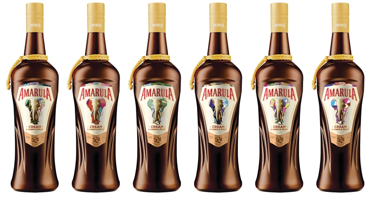 Amarula is the first alcohol brand to launch a global campaign using HP Indigo and SmartStream Mosaic software technology.