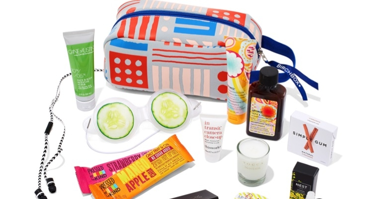 Travel Light With Birchbox This Summer