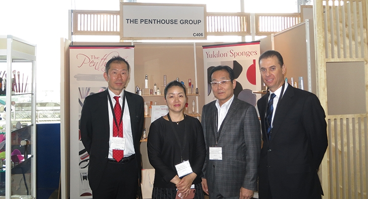 LPNY – The Penthouse Group (L-R): Nomachi san, Hatakeyama san and Numata san, Steve Ostrower