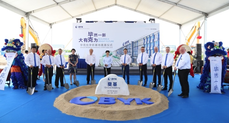 BYK to Build New Integrated Site in Shanghai