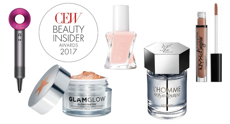 CEW 2017 Beauty Insider Award Winners
