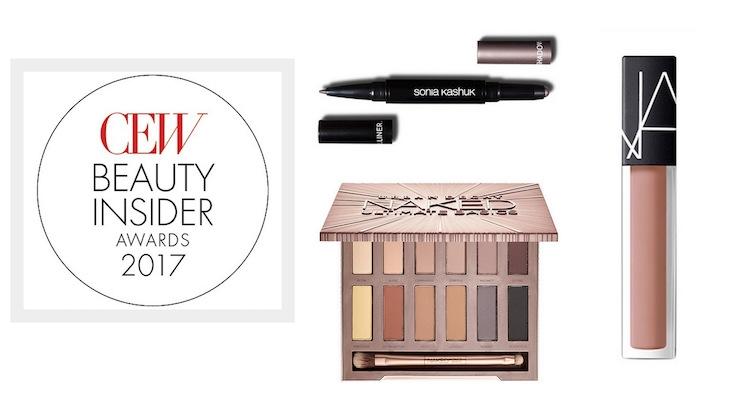 A Look at the 2017 CEW Beauty Insider Award Winners