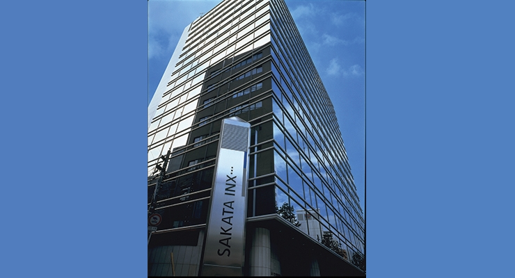 Sakata INX's headquarters in Osaka.
