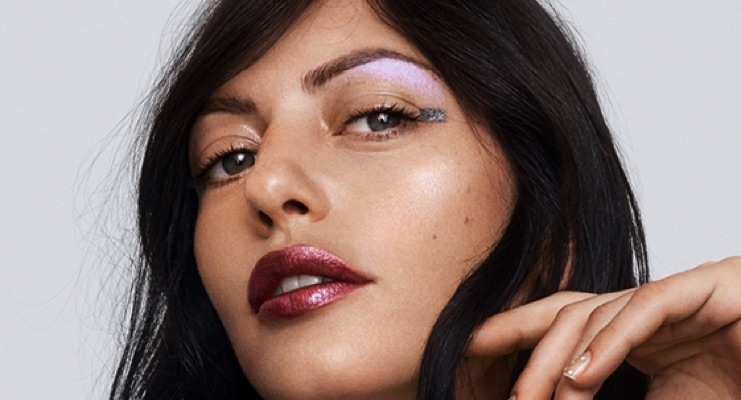 Brands like Milk Makeup are thinking high shine for lips this Fall with metallic finishes.