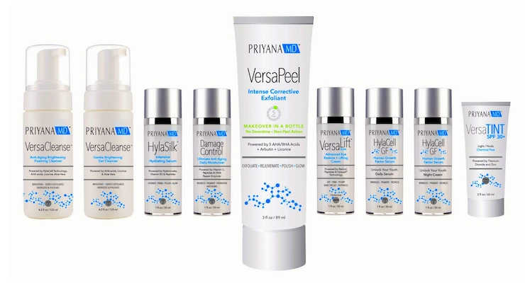 PriyanaMD Skincare Launches a