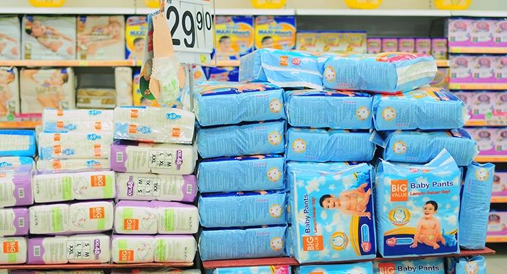 Diaper Makers Report Category Softness