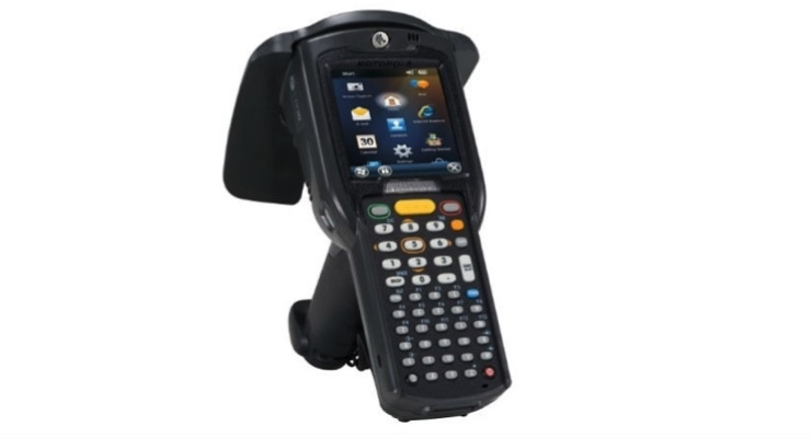 Zebra's MC3190-Z RFID handheld reader.