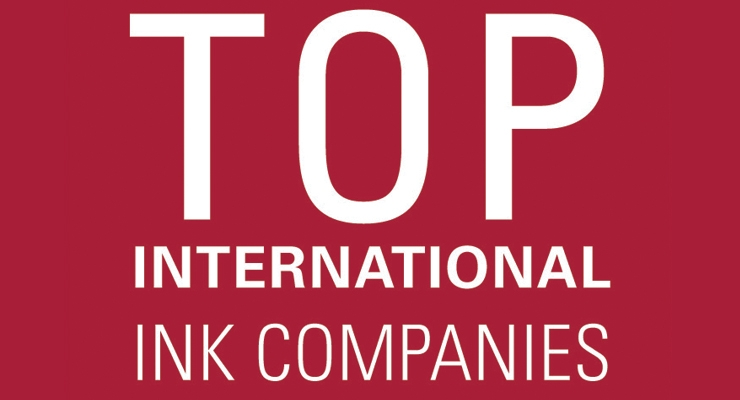 The 2017 Top International Ink Companies Report - Covering the