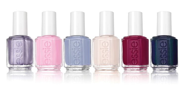 Essie's 90s-inspired nail lacquer collection is new for Fall 2017.