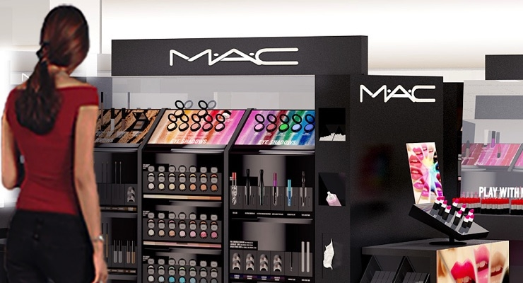 MAC Cosmetics are now sold at Ulta stores.