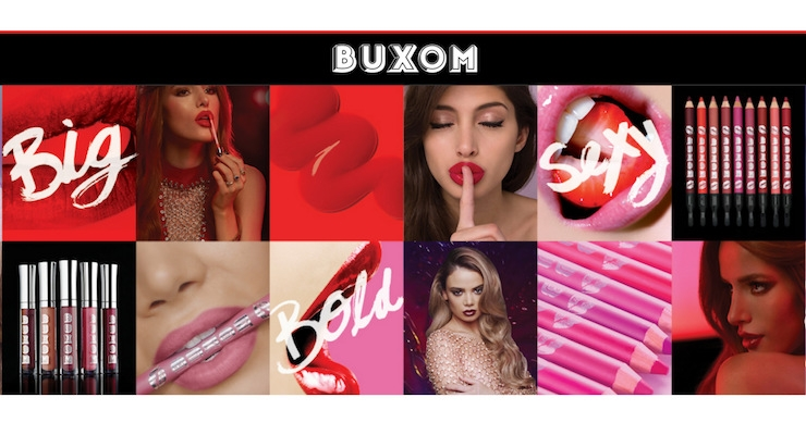 Buxom Cosmetics Launches New E-commerce Website