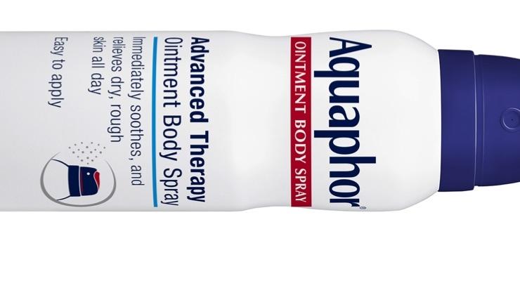 Aquaphor Introduces Spray-On Ointment