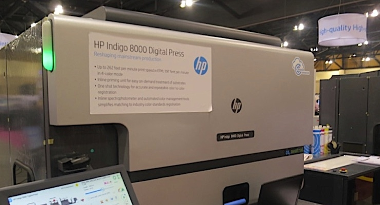 Consolidated Label adds HP Indigo 8000