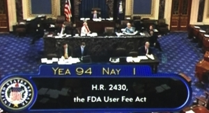 Senate Passes FDA Reauthorization Act