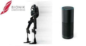 Bionik Labs Integrates Amazon Echo into ARKE Exoskeleton