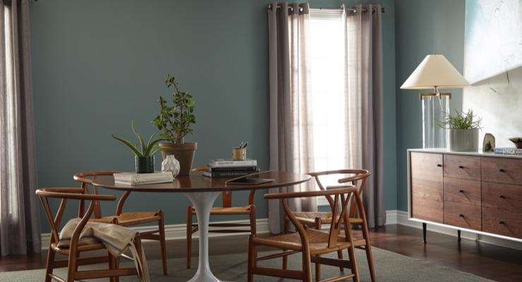 Behr Paint Reveals 2018 Color Of The Year In The Moment At Pop Up Trend Home In New York