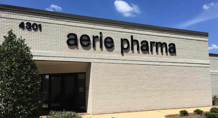Aerie Pharma's CMO Receives FDA CRL
