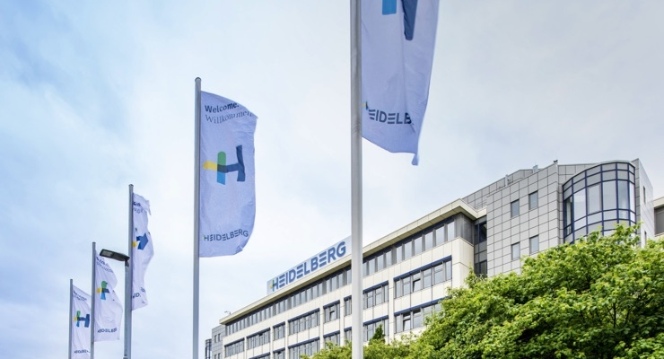 Heidelberg Starts New Financial Year 2017/18 with Increase in Sales, Earnings