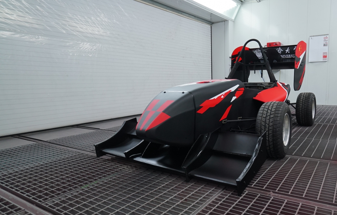 Chinese Student Racing Team Competes in Formula SAE 2017 With Axalta-Painted Car