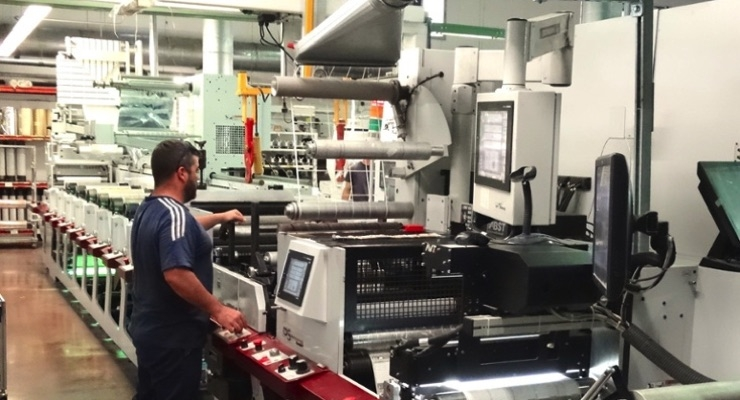 Mirmar now has three Mark Andy P5 presses and two P7s (photo courtesy of Mark Andy)