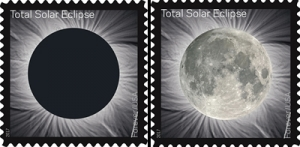 CTI Thermochromic Ink Adorns Commemorative Solar Eclipse Stamp