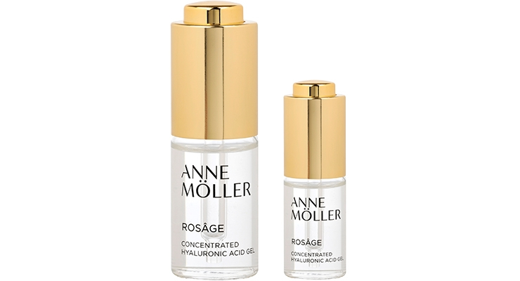 When the Anne Möller skincare brand sought a smaller, more portable iteration of its Concentrated Hyaluronic Acid Gel serum, Virospack delivered this 15ml vial with Company Dropper to ensure precision dosing, formula intake and application.