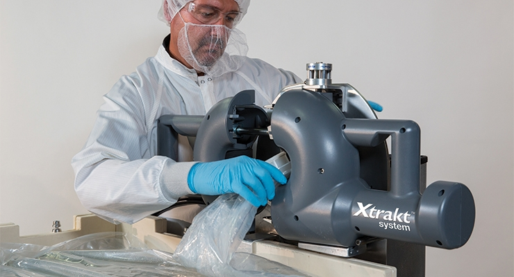 ILC Dover's Xtrakt System in action.