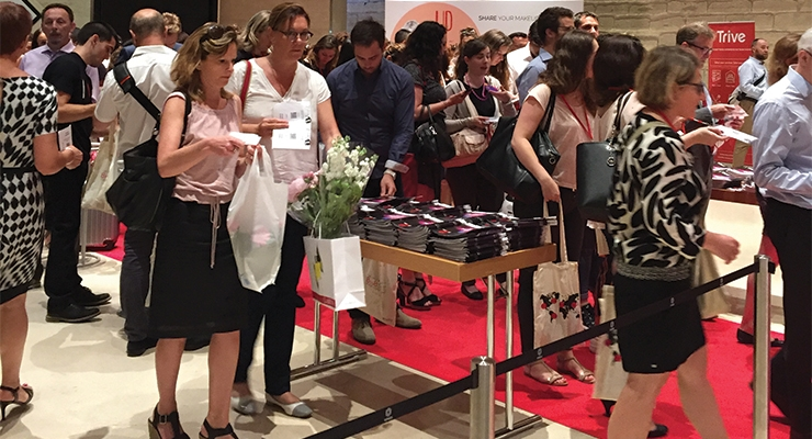 Nearly 4,000 visitors attended MakeUp in Paris during the two days.