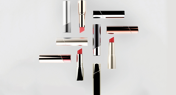Lumson focused on its new lipstick range,100% Made in Italy.