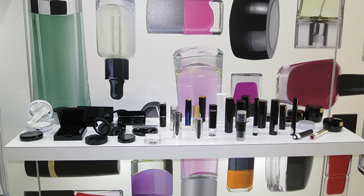 Baralan now offers a full line of plastic components for color cosmetics, including compacts, lipsticks, and mascara.