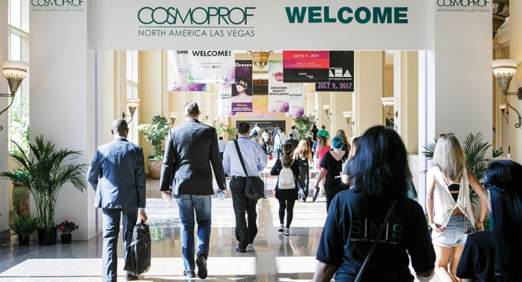 In its 15th year, Cosmoprof NA welcomed nearly 37,000 visitors to  the Mandalay Bay Convention Center, in Las Vegas, July 9-11.