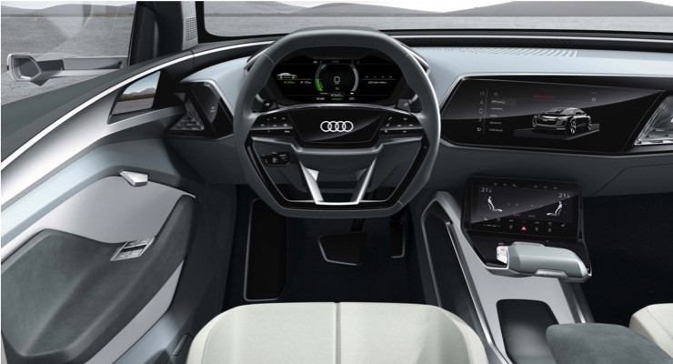 Audi Gran Turismo e-tron sportback concept car interior (Source - audi.co.uk)