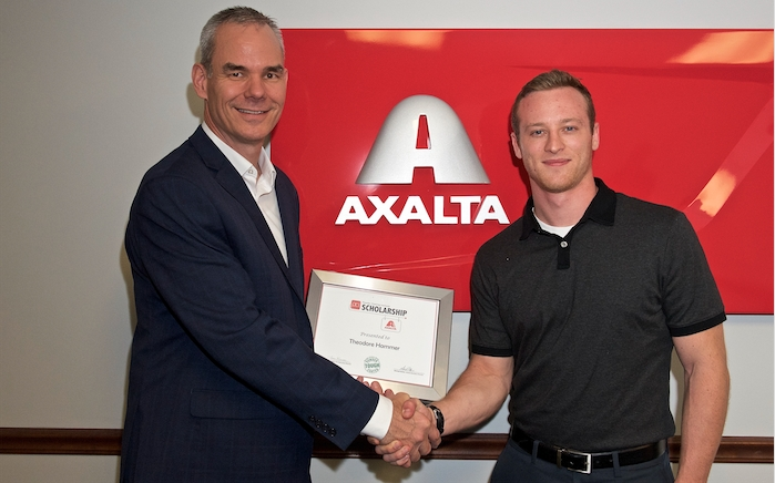 University of Akron Student Earns PCI/Axalta Scholarship