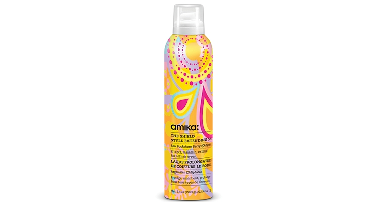 amika The Shield Style Extending Spray Defending against frizz-inducing humidity,