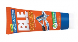 BLE Shave Cream Keeps Blades Working Longer