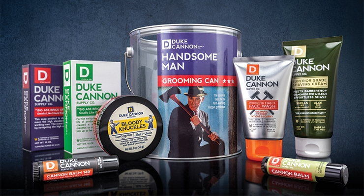 Duke Cannon Supply and Berlin Packaging Partner on 'Handsome Man' Grooming Can
