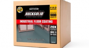 Rust-Oleum Launches New Floor Coating Line