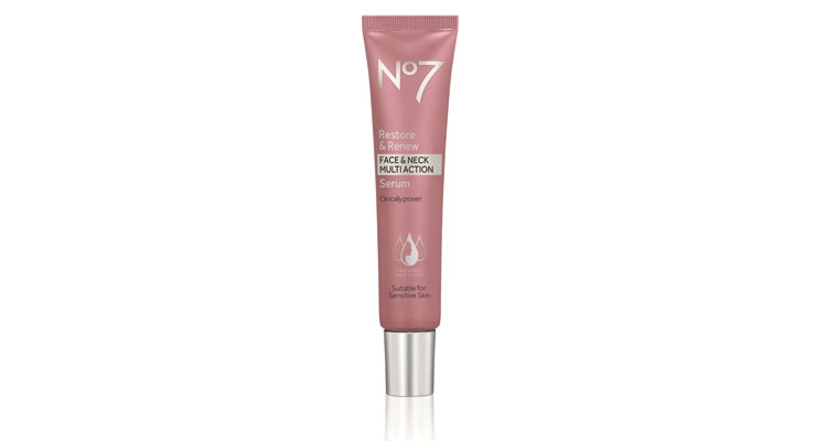 No7 Offers New Face & Neck Multi-Action Serum